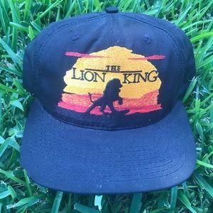 Vtg 90s lion king movie promo SnapBack hat cap